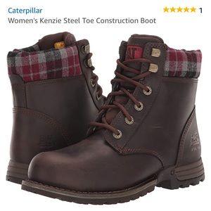 Caterpillar Women's Kenzie Construction Boots